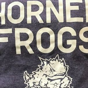 Horned Frogs Mascot Graphic Tee